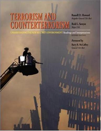 9780073527710: Terrorism and Counterterrorism: Understanding the New Security Environment, Readings and Interpretations