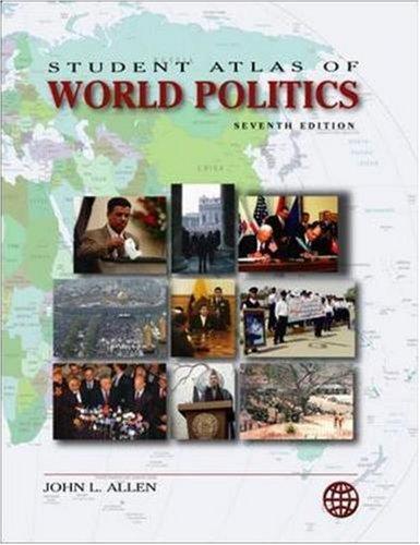 9780073527734: Student Atlas of World Politics