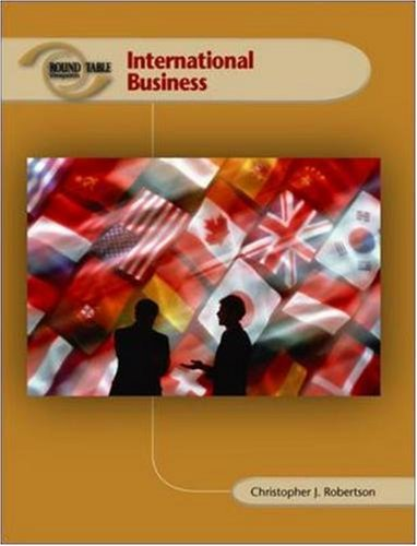 9780073527819: Roundtable Viewpoints: International Business, Preliminary Edition