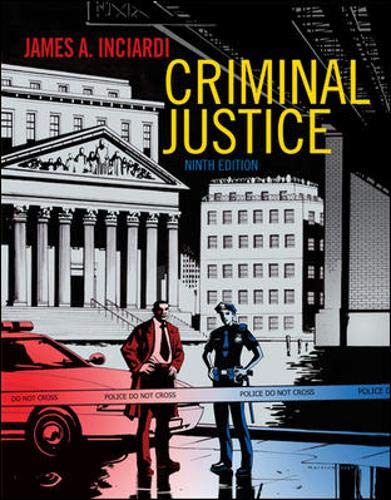 9780073527963: Criminal Justice