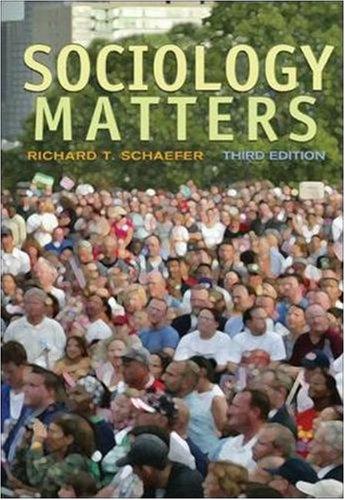 9780073528113: Sociology Matters