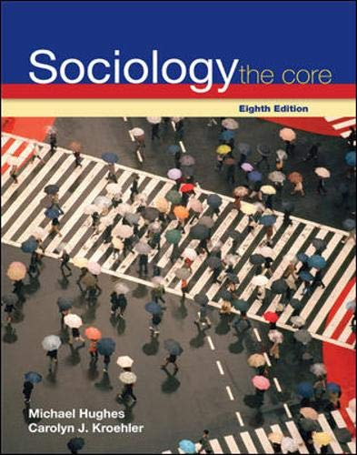 9780073528120: Sociology: The Core