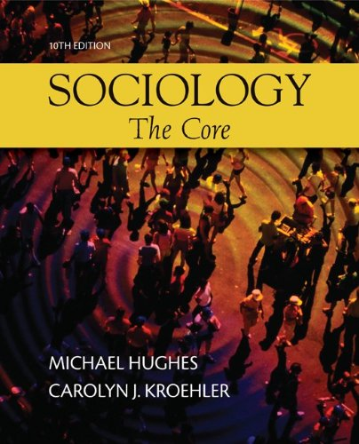 9780073528199: Sociology: The Core