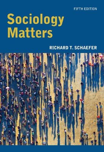 9780073528250: Sociology Matters