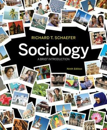 9780073528267: Sociology A Brief Introduction