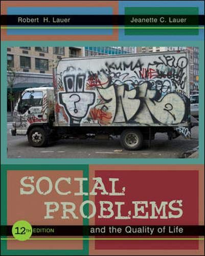 9780073528281: Social Problems and the Quality of Life