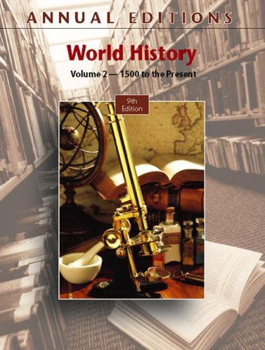 Annual Editions : World History, Volume 2,: Helen Buss Mitchell;