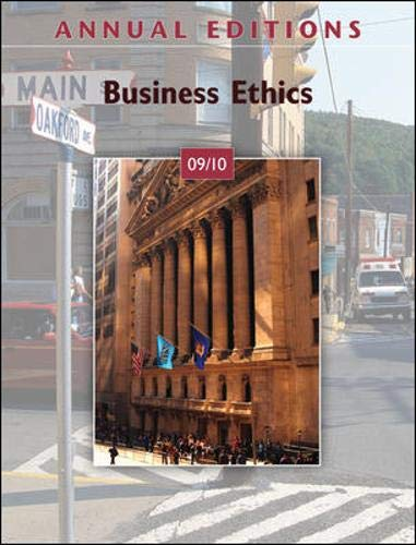 9780073528557: Annual Editions: Business Ethics 09/10