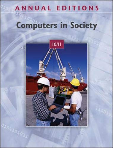 9780073528588: Annual Editions: Computers in Society 10/11