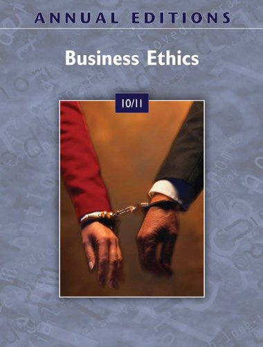 9780073528618: Annual Editions: Business Ethics 10/11