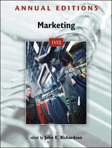 9780073528649: Annual Editions: Marketing 11/12