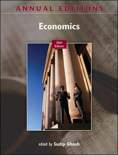 9780073528663: Annual Editions: Economics, 36/e