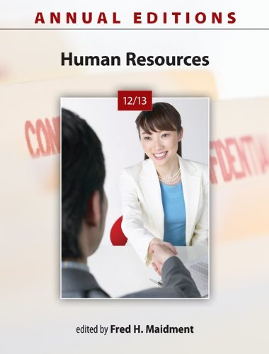 9780073528717: Annual Editions: Human Resources 12/13