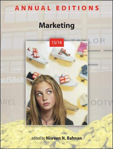9780073528762: Annual Editions: Marketing 13/14