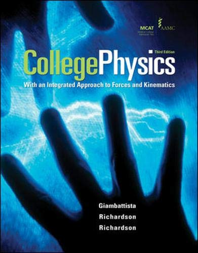 9780073529189: Student Solutions Manual to accompany College Physics
