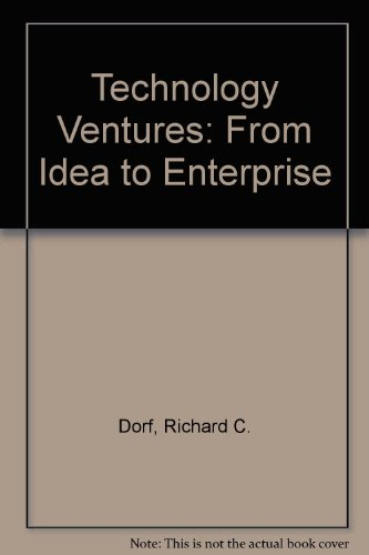 9780073529226: Technology Ventures: From Idea to Enterprise