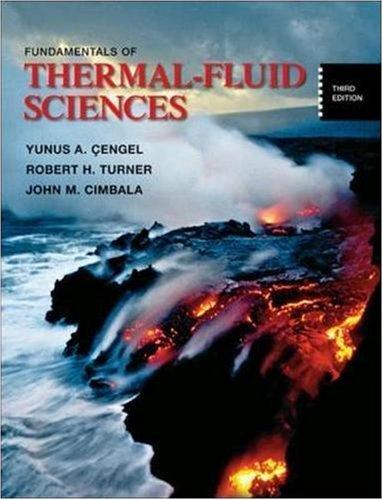 9780073529257: Fundamentals of Thermal-Fluid Sciences