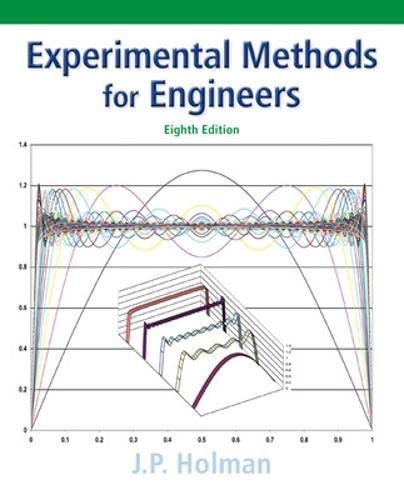 Experimental Methods for Engineers (Mcgraw-hill Series in: Holman, Jack P.