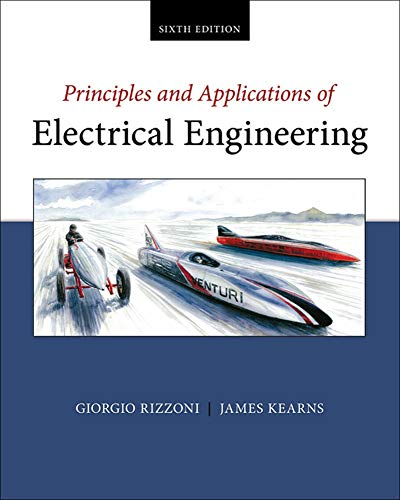 9780073529592: Principles and Applications of Electrical Engineering (Irwin Electronics & Computer Enginering)