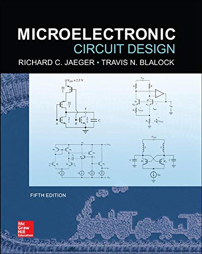 9780073529608: Microelectronic Circuit Design, 5th Edition (Irwin Electronics & Computer Enginering)