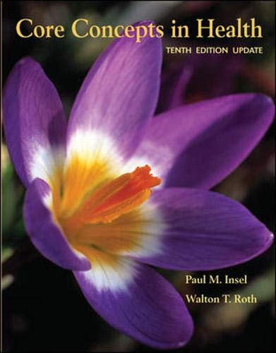 9780073529639: Core Concepts in Health Update