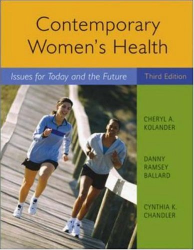 9780073529653: Contemporary Women's Health: Issues for Today and the Future