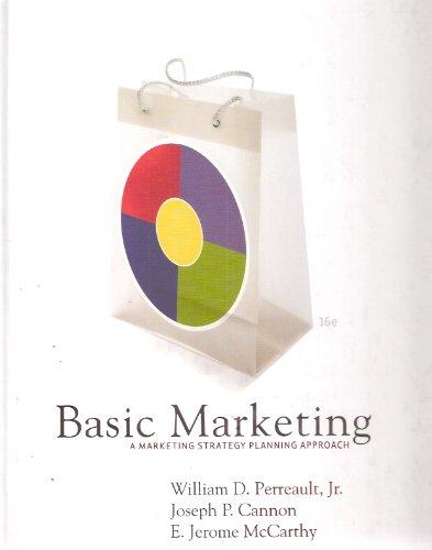 9780073529806: Basic Marketing