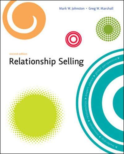 9780073529813: Relationship Selling