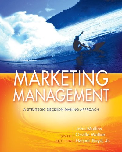 9780073529820: Marketing Management: A Strategic Decision-Making Approach (Mcgraw Hill/Irwin Series in Marketing)
