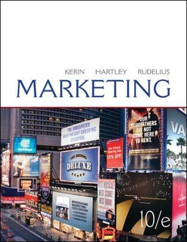 9780073529936: Marketing
