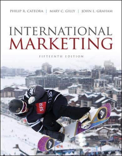 9780073529943: International Marketing
