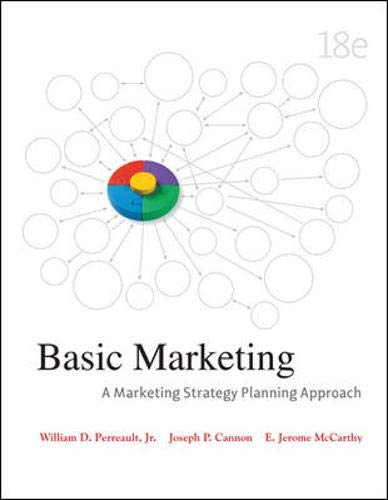 9780073529950: Basic Marketing: A Marketing Strategy Planning Approach