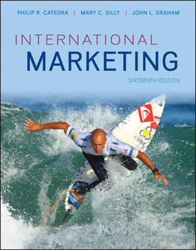 9780073529974: International Marketing (Irwin Marketing)