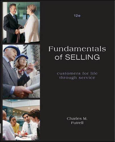 9780073529998: Fundamentals of Selling