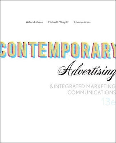9780073530031: Contemporary Advertising