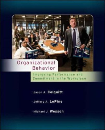 9780073530086: Organizational Behavior: Improving Performance and Commitment in the Workplace