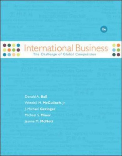 9780073530161: International Business: The Challenge of Global Competition