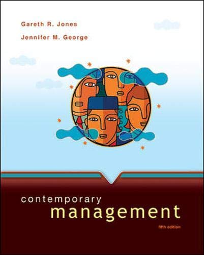 9780073530222: Contemporary Management