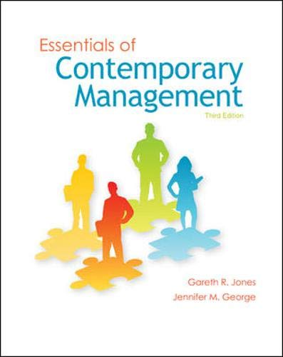 9780073530246: Essentials of Contemporary Management
