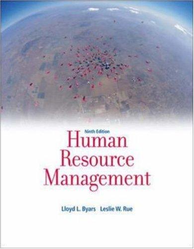 9780073530253: Human Resource Management