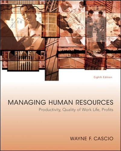 9780073530260: Managing Human Resources
