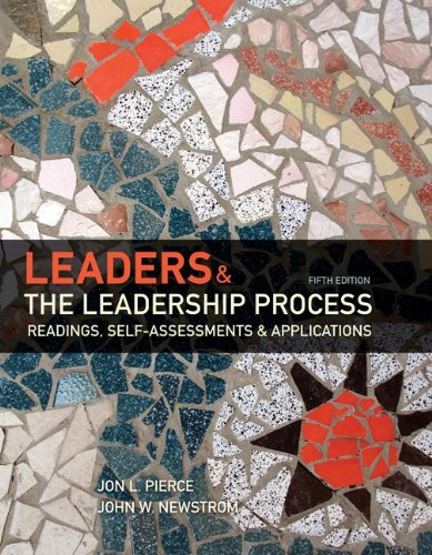 9780073530284: Leaders and the Leadership Process