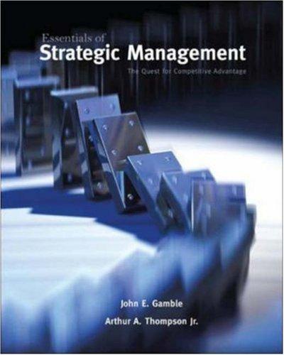9780073530307: Essentials of Strategic Management: The Quest for Competitive Advantage