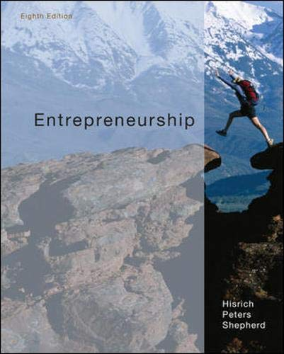 9780073530321: Entrepreneurship
