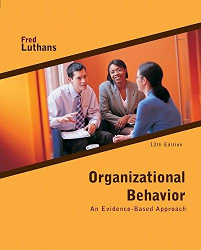 9780073530352: Organizational Behavior