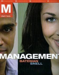 9780073530390: M: Management
