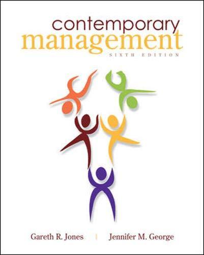 9780073530437: Contemporary Management