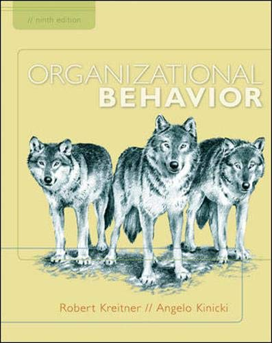 9780073530451: Organizational Behavior