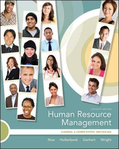 9780073530475: Human Resource Management