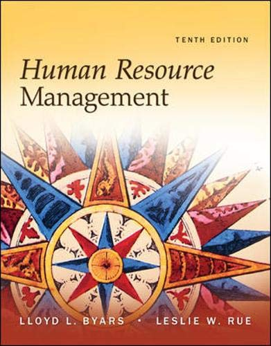 Human Resource Management (10th ed.)